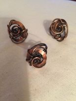 Copper Knot Rings $20.00 ea